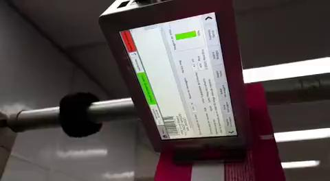 Faith Automatic Batch Code Printing Machine/Online Inkjet Coder/Tij Inkjet Expiry Date Printer